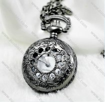 Gun Metal Plating Pocket Watch Chain - PW000041