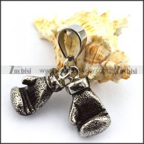 A pair of Boxing Gloves Pendant with p003733