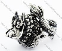 Stainless Steel Dragon Ring -JR330082