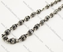 Biker Stainless Steel Necklace -JN170007