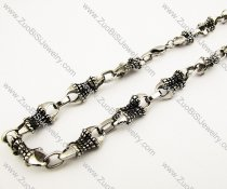 Special Men's Stainless Steel Necklace -JN170011