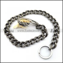 Vintage Steel Dragon Jean Chain in Casting y000015