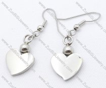 Peach Heart Stainless Steel earring - JE050132