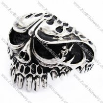 Solid Skull Bangle for mens -JB170091
