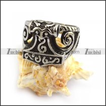 Stainless Steel Thor Hammer Ring r003799