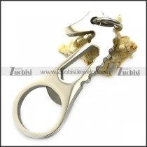 stainless steel seahorse shaped opener for beer a000593