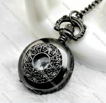 Vintage Gun Metal Pocket Watch Chain - PW000075