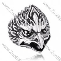 Stainless Steel The eagle Ring - JR350171
