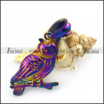 Night Owl Pendant in Colorful Plating p004938