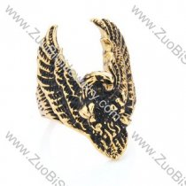 Stainless Steel The eagle Ring - JR350176