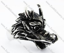 Stainless Steel Dragon Ring -JR010198