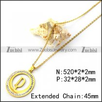 Initial D Charm Necklace n001693