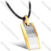 18K gold stainless steel tungsten pendant for ladies -JN440001