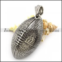 Unique Rugby Football Pendant p004738