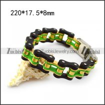 0.70 Inch Wide Bicycle Chain Bracelet in 3 colors b005813
