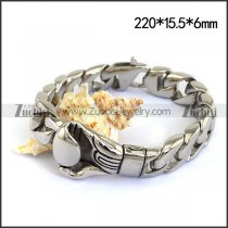 Casting Boxing Glove Bracelet in Stainless Steel b004616