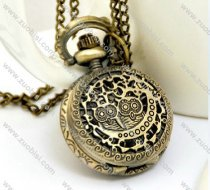 Vintage Owl Pocket Watch Chain - PW000100
