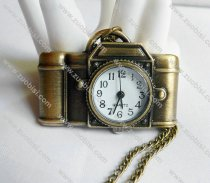 Cute Antique Brass Camera Pocket Watch PW000220