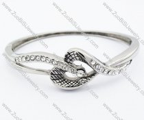 Snake Stainless Steel Bangle - JB200089