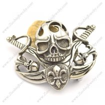 Captain America Belt Buckle in Skull Theme bu000043