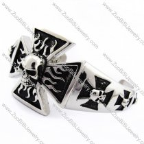 Solid Skull Bangle for mens -JB170095