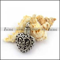 DAD Cremation Pendant Jewelry for Ashes p003799