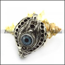 Blue Evil Eye Pendant p005280