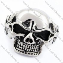 Solid Skull Bangle for mens -JB170092