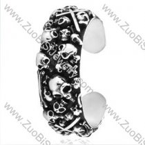 Numerous Skulls Stainless Steel Bangles - JB350017