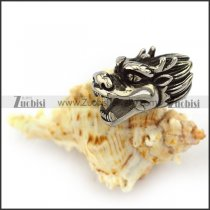 stainless steel China dragon head end cap a000054