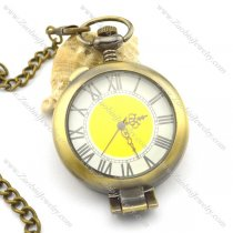 special cover Roman numeral pocket watch pw000415