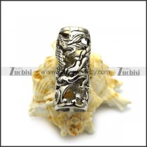 Stainless Steel China Dragon Beads for Beard a000521