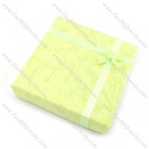light green paper jewelry boxes with bowknot pa0001
