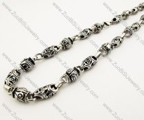 Unique Punk Stainless Steel Mens Necklace -JN170008
