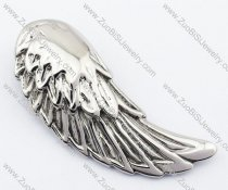 Unique Stainless Steel Wing Pendant-JP330049
