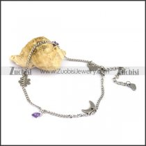 Simple Steel Anklet for Ladies ac000088