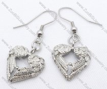Antique Heart Stainless Steel earring - JE050130