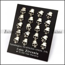 Horrible Skull Earring e001237
