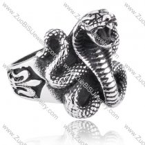 Stainless Steel The snake Ring - JR350121