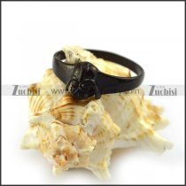 Black War Warrior Ring r004625