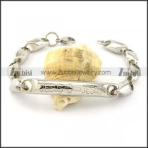 Buy Solid Casting Chain Bracelet with Tube -b001023