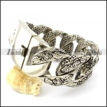 Big Casting Rose Bracelets for Heavy Strong Mens with Cheapest Wholesale Price b001284