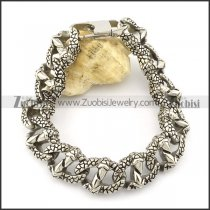 12 Dragon Claws Casting Bracelet in Stainless Steel -b001338