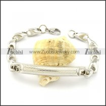 Buy Solid Casting Chain Bracelet with Tube -b001027