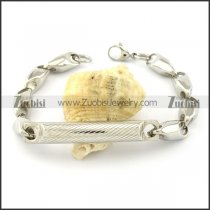 Buy Solid Casting Chain Bracelet with Tube -b001024