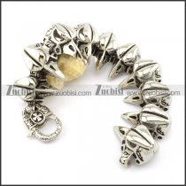 10 bald eagle head bracelet for freedom bikers -b001478