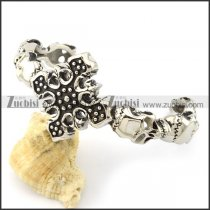 Super Stainless Steel skull bangles -b001555