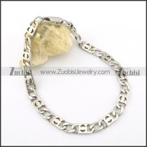 0.6cm wide small chain bracelet b002071