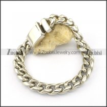 13mm shiny bracelet with casting buckle b002199