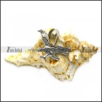 stainless steel eagle charm p007499
